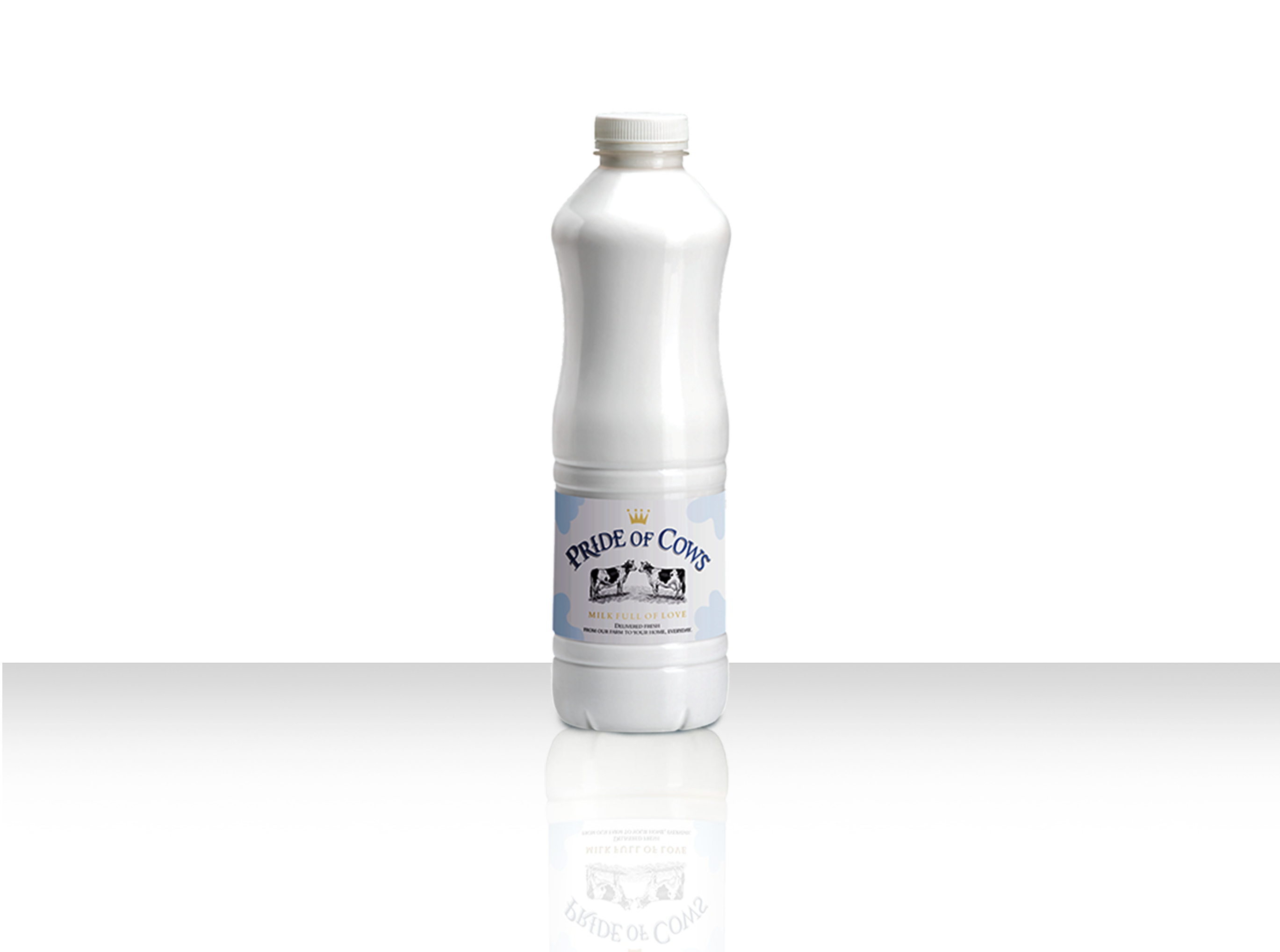 Packaged of  Farm Fresh Milk