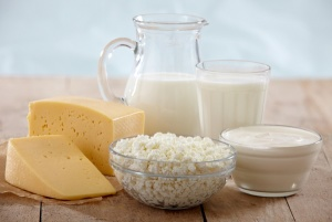 Organic cow milk products